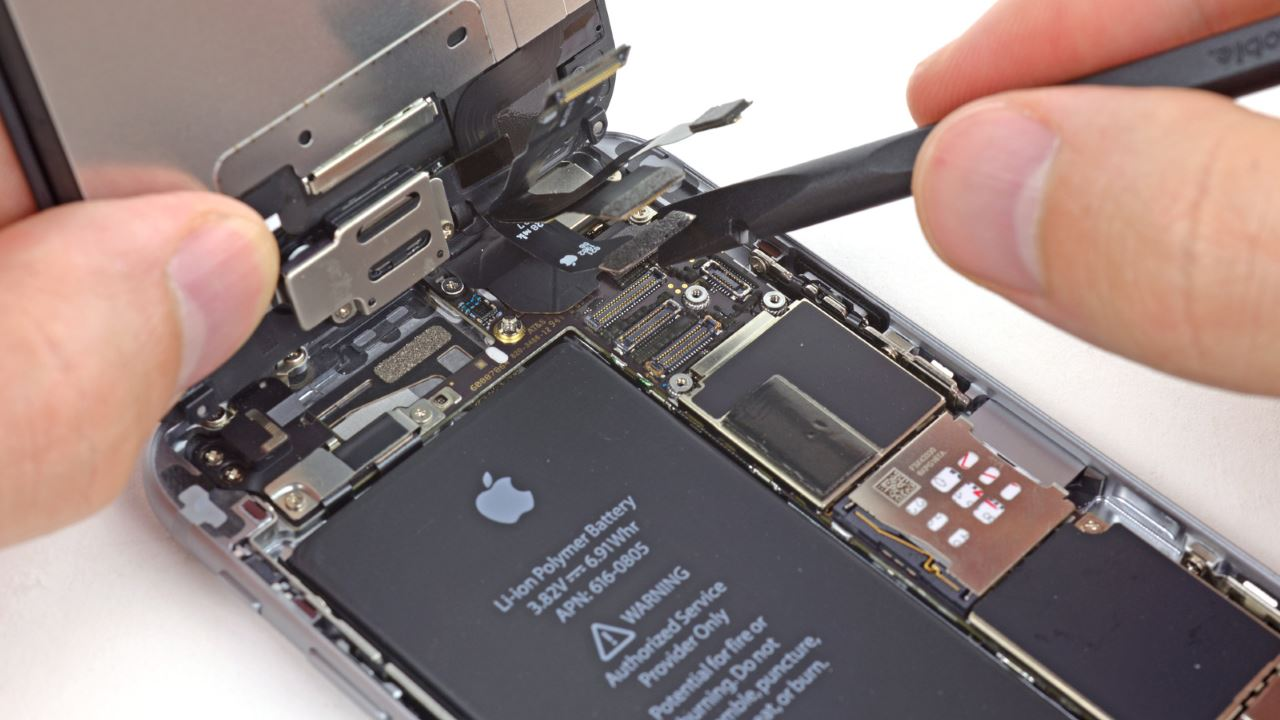 Замена экрана айфона 6 своими руками