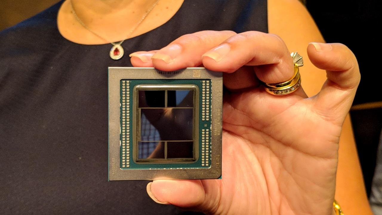 AMD представила первый в мире 7-нм графический процессор
