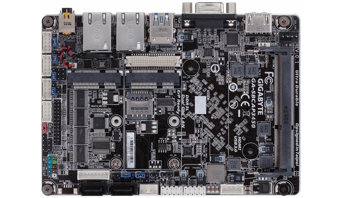 Gigabyte представила одноплатный компьютер с четырёхъядерным процессором