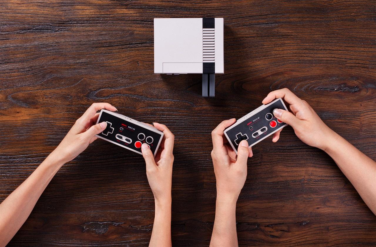 Представлен беспроводной геймпад для Nintendo NES Classic