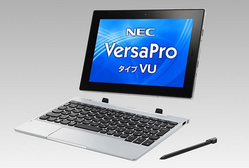NEC выпустила планшет VersaPro VU с процессором Gemini Lake