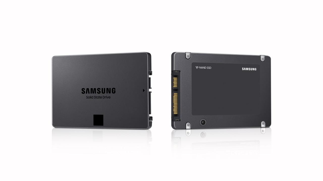 Samsung начала массовое производство потребительских SSD с 4-битными ячейками