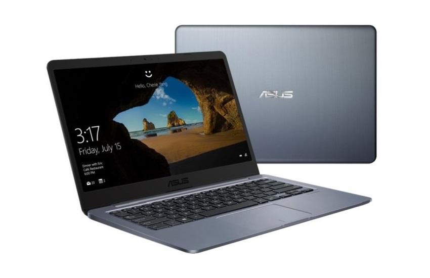 Безвентиляторный ноутбук Asus E406MA с процессором Intel Gemini Lake