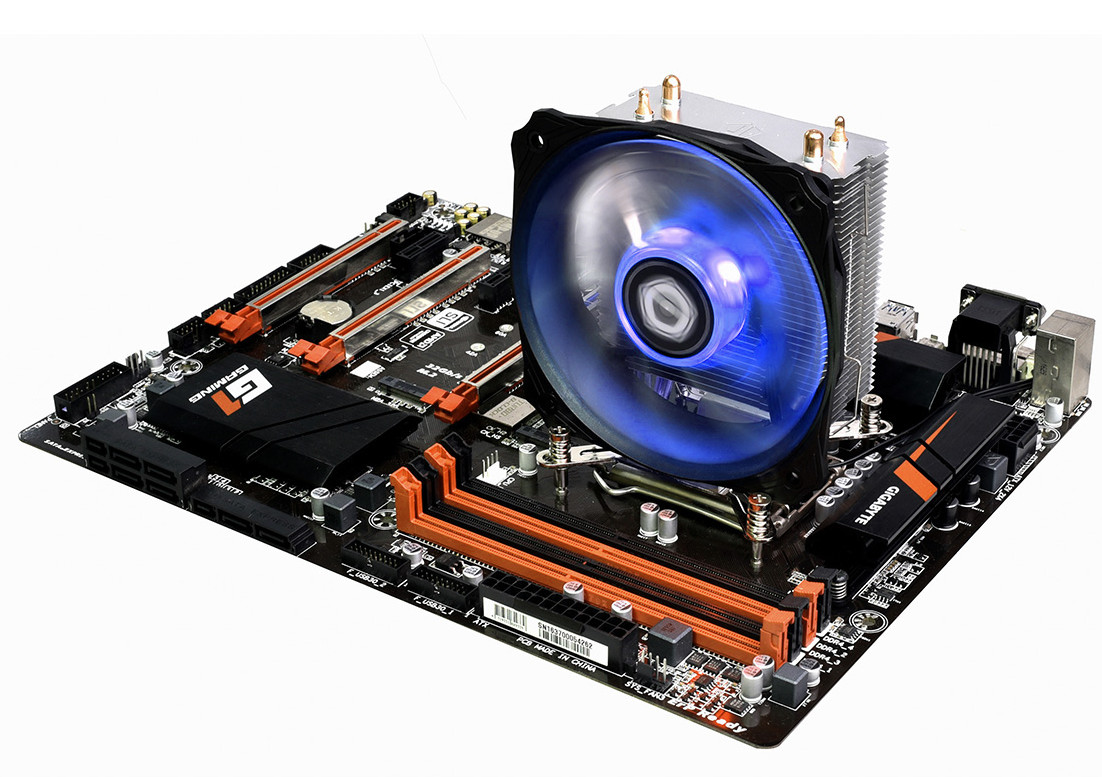 ID-Cooling представила процессорный кулер SE-912i