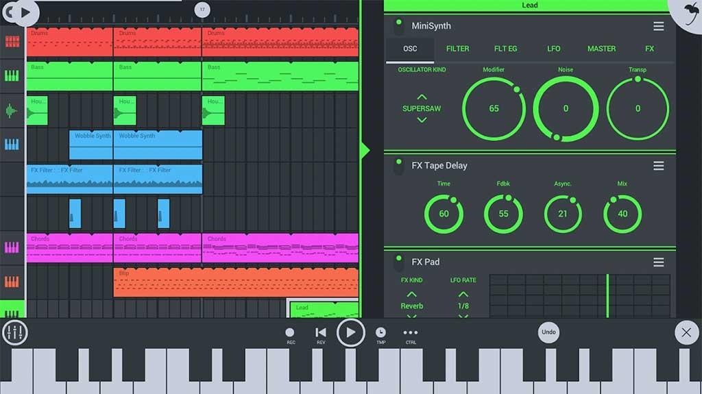 Десять лучших приложений для музыкантов на Android