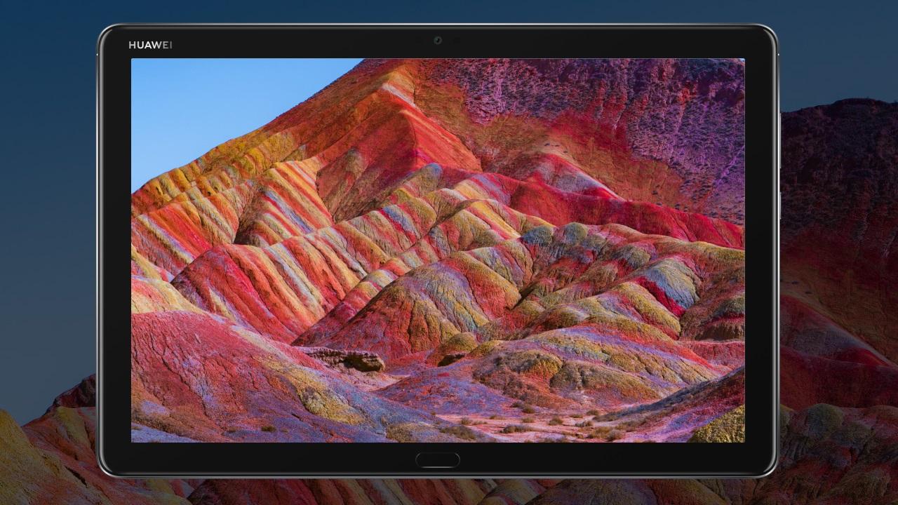 Huawei выпустила планшет MediaPad M5 lite с четырьмя динамиками