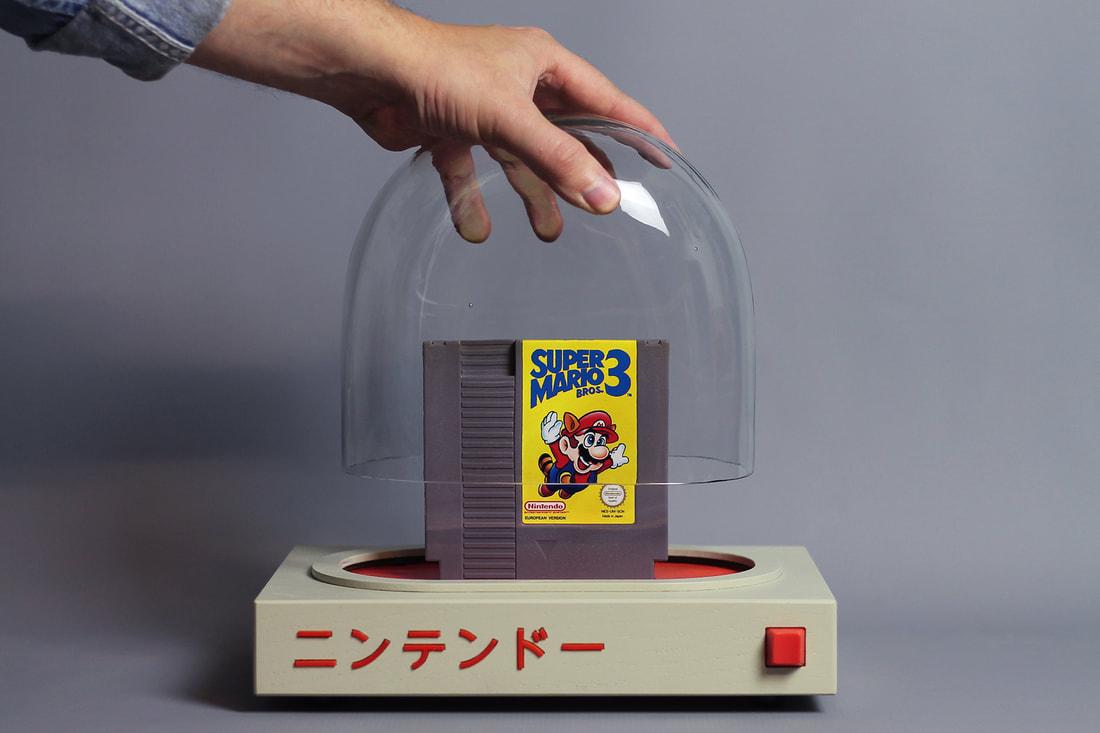 Игровая консоль Pyua в качестве храма Nintendo