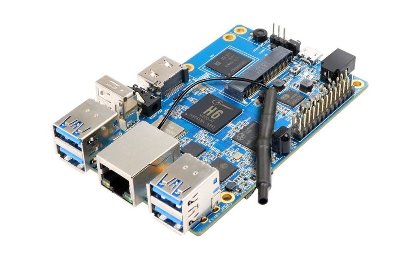 Одноплатный компьютер Orange Pi 3