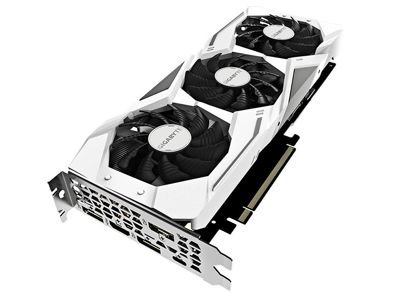 Видеокарта Gigabyte GeForce RTX 2070 Gaming OC White