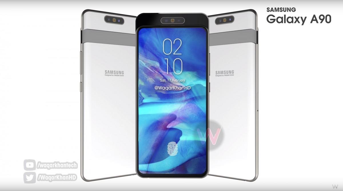 Смартфон Samsung Galaxy A90