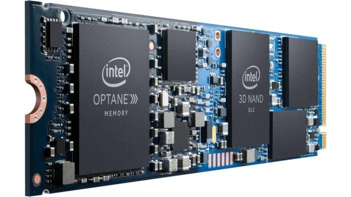 Накопитель Intel Optane H10