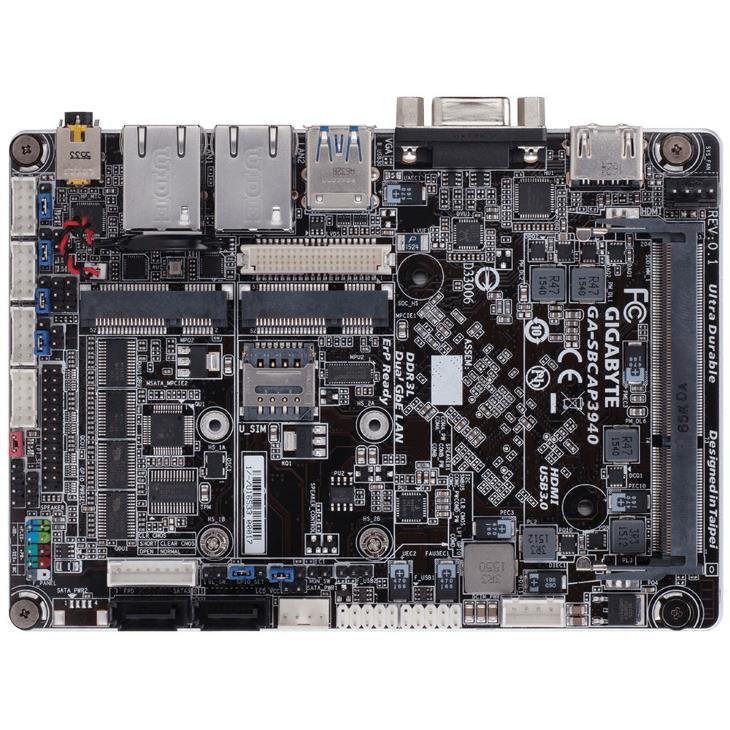 Одноплатный компьютер Gigabyte SBCAP3940