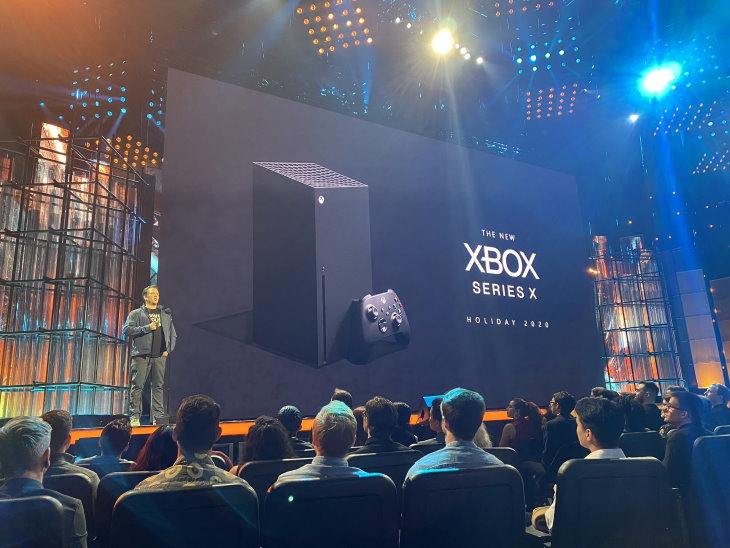 Презентация консоли Xbox Series X
