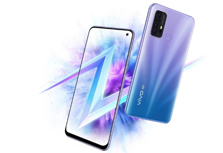 Изображение двух сторон смартфона Vivo Z6 5G