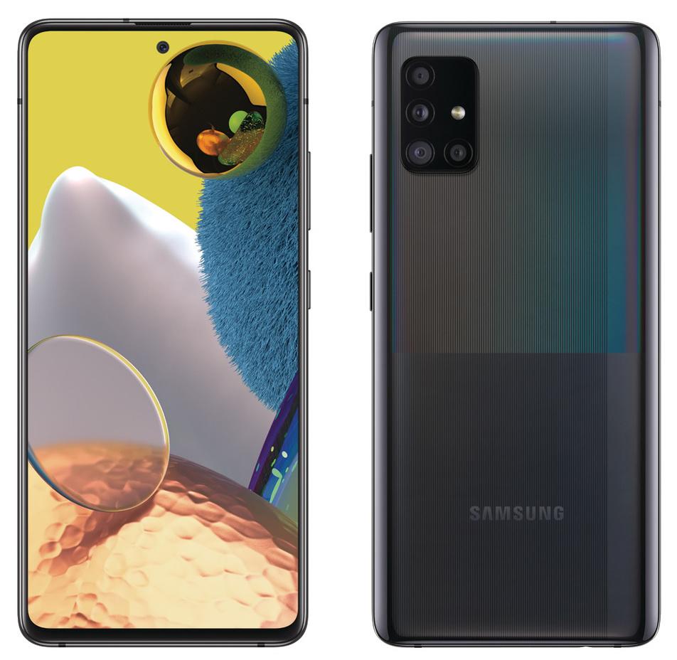 Утечка изображения смартфона Samsung Galaxy A51 5G
