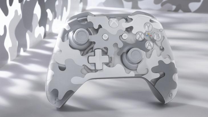 Беспроводной геймпад Xbox Arctic Camo