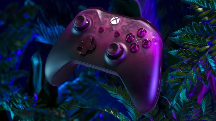Беспроводной геймпад Xbox Phantom Magenta