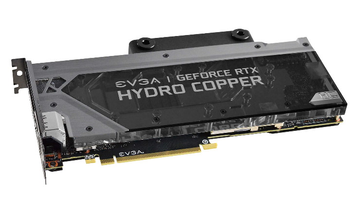 Видеокарта EVGA GeForce RTX 2080 Ti XC Hydro Copper