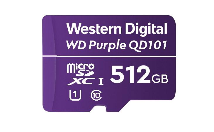 Карта памяти WD Purple QD101