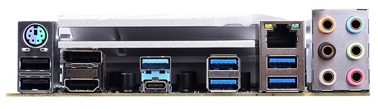 Порты материнской платы Colorful CVN B550M Gaming Frozen V14