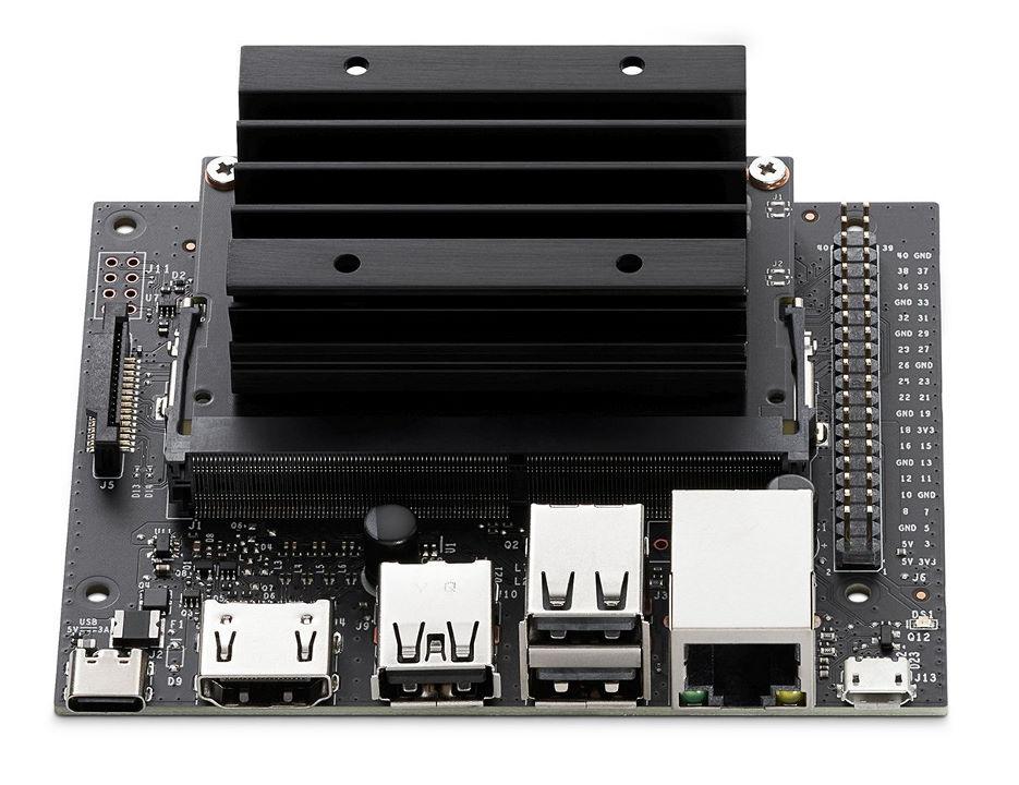 Одноплатный компьютер Jetson Nano 2 GB