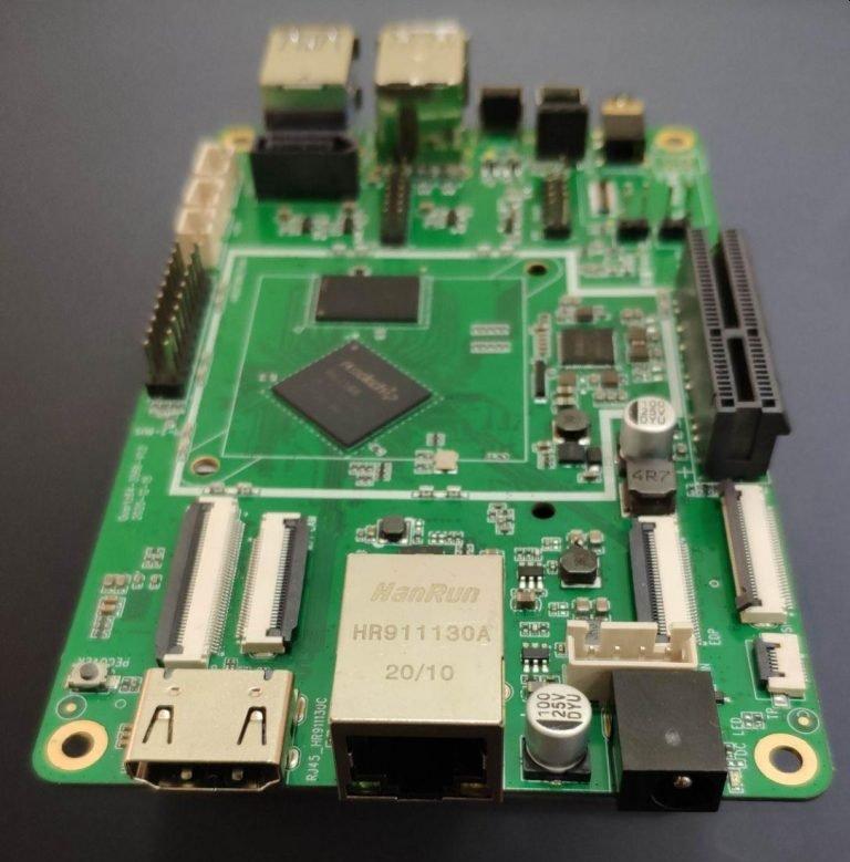 Одноплатный компьютер Pine64 Quartz64 model-A