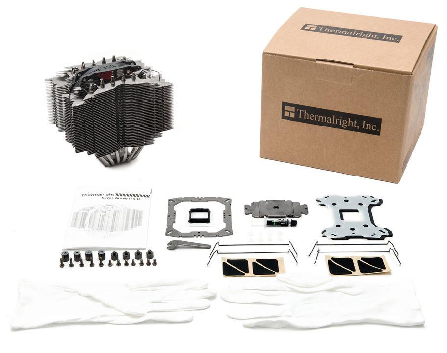 Комплектация кулера Thermalright Silver Arrow ITX-R Rev A